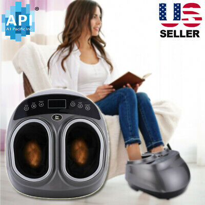 Shiatsu Foot Massager Machine With Switchable Kneading Rolling Massage Home