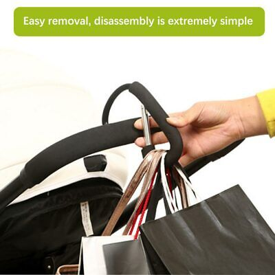 1PC Stroller Clip Hook Shopping Bag Holder Baby Pram Hanger Stroller Accessories