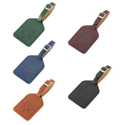 Travel Portable Luggage Suitcase Bag Id Tags Address Label Baggage Card Holder