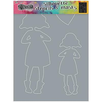Dylusions Stencils and Masks - Silhouettes - Martha- NEW!