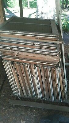 "windows, antique,30""w x 34h, some with original glass. Pulleys, no counterweight"