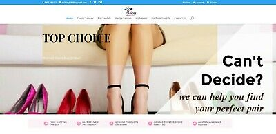 Online Internet Women's Shoes Drop Ship Business For Sale Start Selling Now
