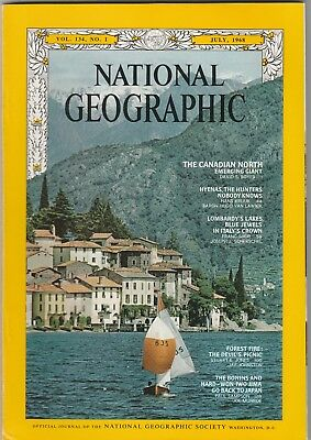 National Geographic Magazine July 1968 The Canadian Emerging Giant