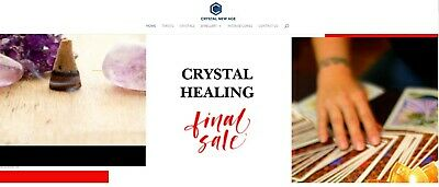 Online Internet Crystals & Gifts Drop Ship Business For Sale Start Selling Now