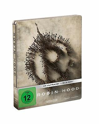 Robin Hood (4K UHD + Blu-ray Steelbook) NEW / SEALED