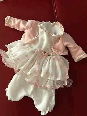 Hand Made Dolls Dress For 16inch Reborn Doll