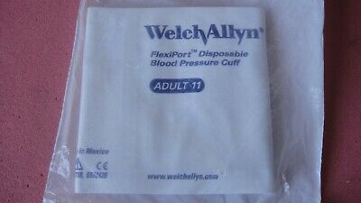Welch Allyn FlexiPort Disposable Blood Pressure Cuff Adult 11 (LOT OF 4)