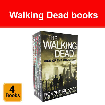 Walking Dead Collection 4 Books Set Fall Of the Governor, Road To Woodbury NEW