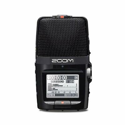 ZOOM H2n Handy Recorder with MS Microphone Japan Import