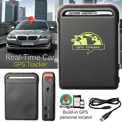 Live Real Time GPS GSM GPRS Tracker Locator Device SDSlot Car Truck Personal Use