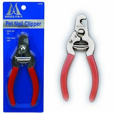Millers Forge Pet Nail Clipper Trimmer Dogs Cats Stay Sharp Plier Style  Guard