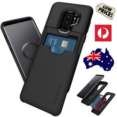 SPIGEN Samsung S8 + S9 Plus Note 8 9 S10 S10+ SLIM ARMOR CARD SLOT CS Phone Case