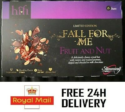 Fruit And Nut Slimming World Hi-Fi Bars - Free 24H Delivery