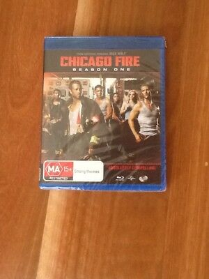 Brand New Sealed - Chicago Fire Season 1 - Blu Ray