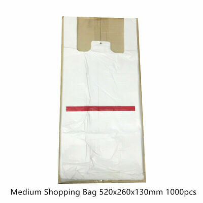 Plastic Singlet Grocery Shopping Checkout Bags Top Quality Melbourne