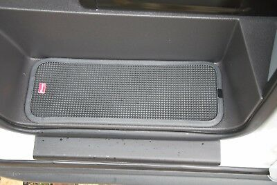 Ford Transit 2007 On Rubber Cab Step Mats With Black Pvc Contrast Edging