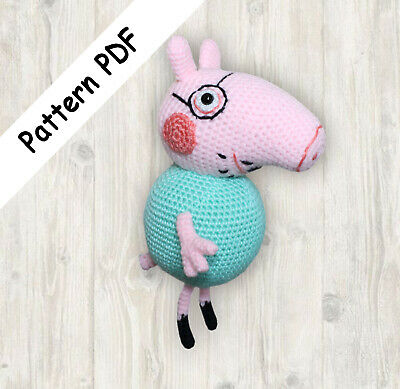 Peppa Pig - free crochet pattern - Amigurumi Today | 389x400