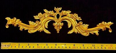Decorative Moulding French Louis Xv Antique Gold Gilt Or White Resin Decoration