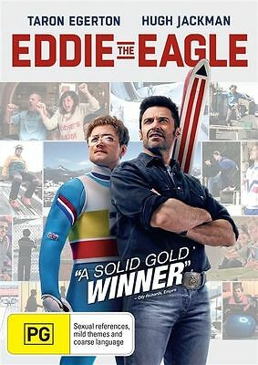 Eddie The Eagle (DVD, 2016)- FREE POST