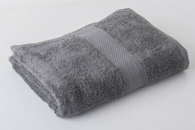 12 x Grey Luxury 100% Egyptian Cotton Hairdressing Towels Salon Beauty 50x85cm