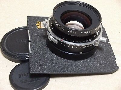 NIKON NIKKOR  W 135mm f/5.6 in Copal No.0 Press Shutter