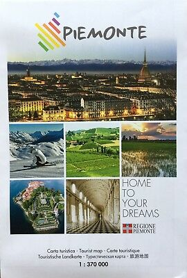 PIEMONTE Tourist Map - Free UK Postage