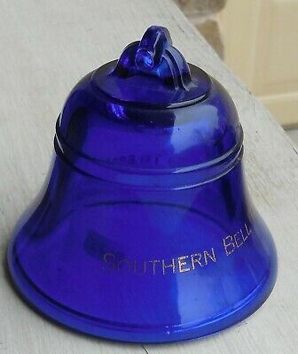 Blue Bell Paperweight, Southern Bell Telephone and Telegraph  , Fenton (M185)