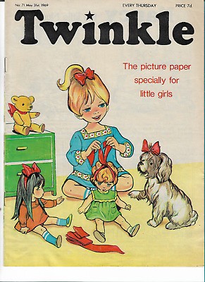 NM VF Vintage Twinkle Comic No. 71 #71 May 31st 1969 50th Year Birthday Gift