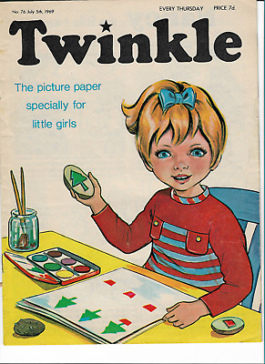 NM VF Vintage Twinkle Comic No. 76 #76 July 5th 1969 50th Year Birthday Gift