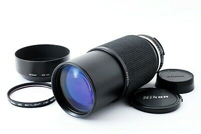 Nikon Zoom Nikkor Series E 70-210mm F4 w/HN-24 [Exc+++++] F/S From Japan #959