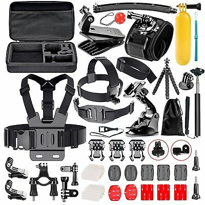 Accessori per GoPro Hero Session/5 Hero 1 2 3 3+ 4 5, Kit per Action Cam