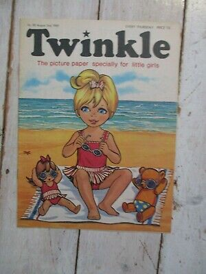 NM VF Vintage Twinkle Comic No. 80 #80 August 2nd 1969 50th Year Birthday Gift