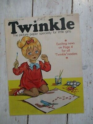NM VF Vintage Twinkle Comic No. 85 #85 September 6th 1969 50th Birthday Gift