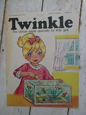 NM VF Vintage Twinkle Comic No. 87 #87 September 20th 1969 50th Birthday Gift