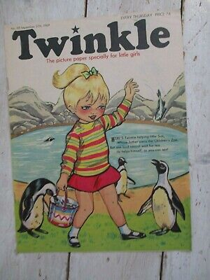 NM VF Vintage Twinkle Comic No. 88 #88 September 27th 1969 50th Birthday Gift