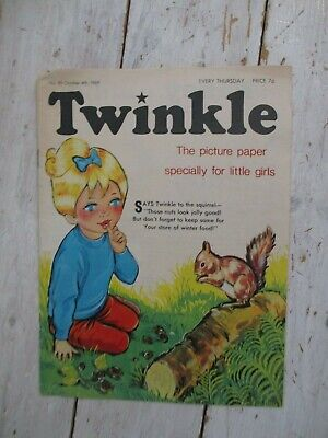 NM VF Vintage Twinkle Comic No. 89 #89 October 4th 1969 50th Birthday Gift