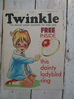 NM VF Vintage Twinkle Comic No. 91 #91 October 18th 1969 50th Birthday Gift