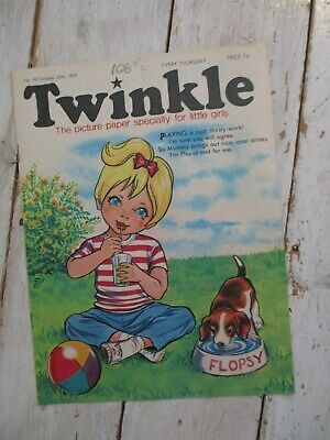 NM VF Vintage Twinkle Comic No. 92 #92 October 25th 1969 50th Birthday Gift