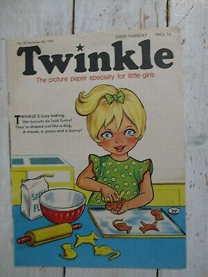 NM VF Vintage Twinkle Comic No. 98 #98 December 6th 1969 50th Birthday Gift