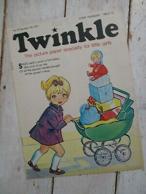 NM VF Vintage Twinkle Comic No. 99 #99 December 13th 1969 50th Birthday Gift