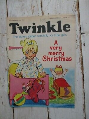 GC Vintage Twinkle Comic No. 101 #101 December 27th 1969 50th Birthday Gift