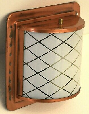 Moe Wall Sconce arts and crafts style vintage mid century modern