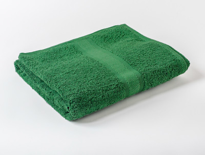 24 x Green  Luxury 100% Egyptian Cotton Hairdressing Towels Salon Beauty 50x85cm