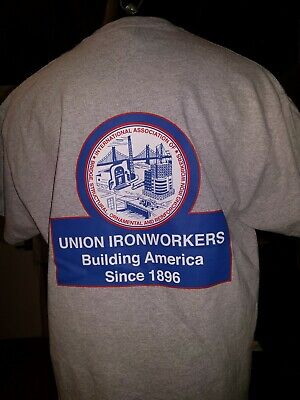 Union Ironworkers building America since 1896 structural rodbuster ornamental L
