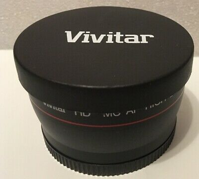 Vivitar HD4 MC AF High Definition 2.2x Telephoto Converter Lens 58mm Japan