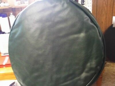 "Set Of 2  26"" Fuel Tank Covers Dark Oxen Green Smooth"