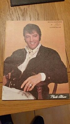 Elvis Photo Album - With the Compliments of Elvis and RCA Records Picture Book