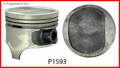 Enginetech P1593(6)060 PISTON AMC JEEP 4.0L 242 D SHAPED DISH TOP