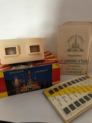 Stereoscope Lestrade Simplex Cream Viewer French Vintage Collectable Lourdes