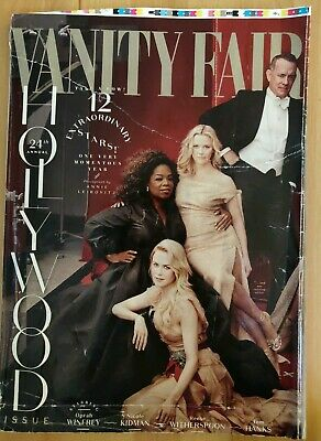 Vanity Fair Magazine, Hollywood Issue, Celebrities